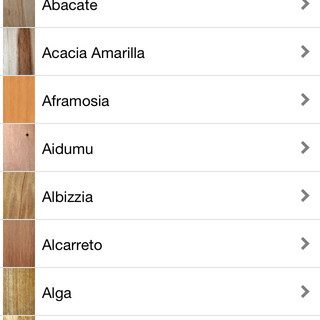 Enciclopedia de la madera para iPhone