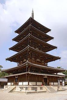 Temple milenari construit amb fusta