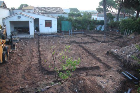 Inicio de la construcción