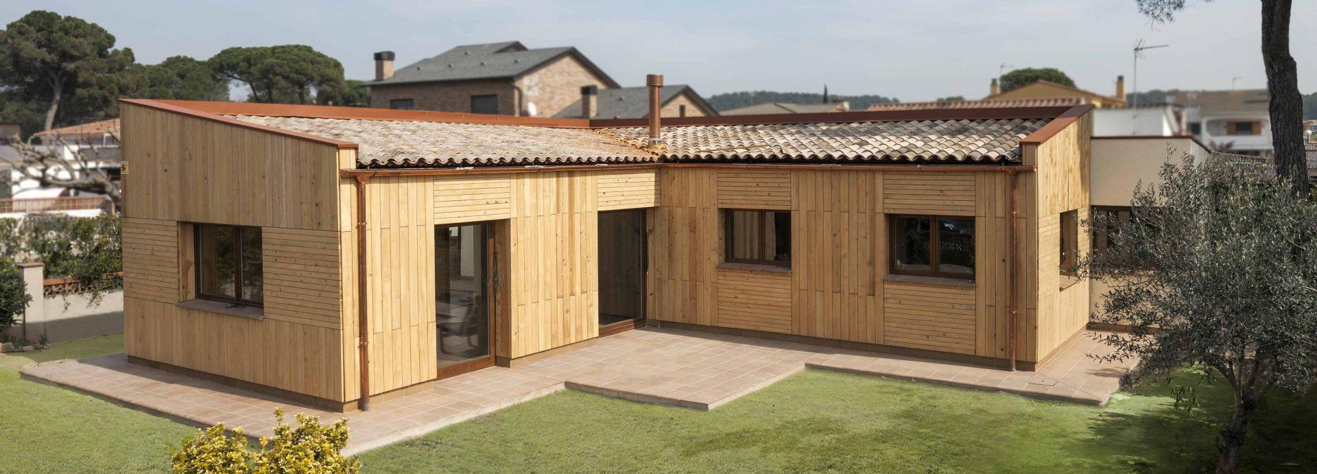 segunda casa passivhaus en cataluña