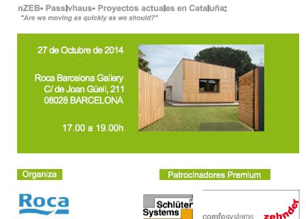 Jornada nZEB= Passivhaus= Proyectos actuales en Cataluña: