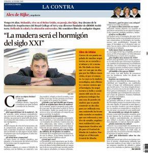 Alex Rijke Vanguardia