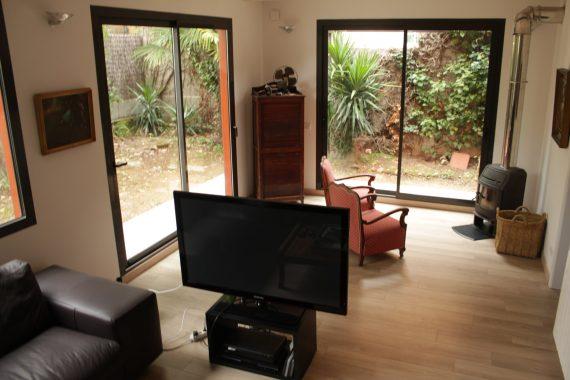 ampliació casa valldoreix alta eficiència energètica