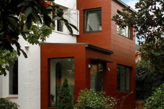 ampliació a valldoreix casa ecològica