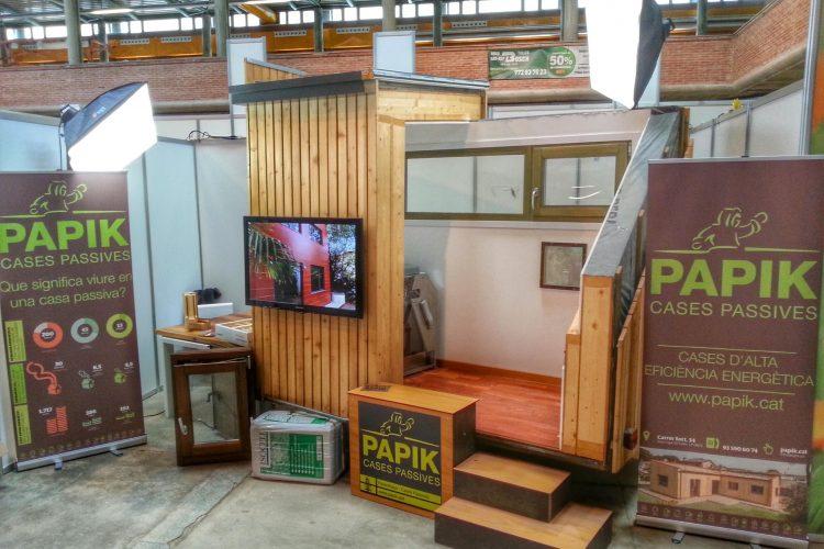 Portem el Passivhaus a la fira de Mostres de Girona