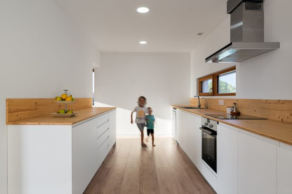 cocina casa pasiva biopasiva cataluña passivhaus