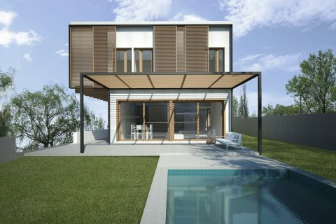 Presentem la que serà la primera casa passivhaus de Sant Cugat del Vallès