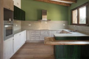 acabados casa ecológica cocina passiva passivhaus catalunya