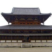 horyu ji templo milenario construido con madera
