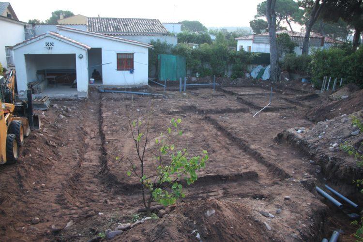 Inici de la construcció