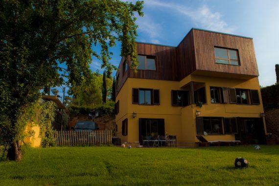 remunta ampliació casa sostenible ecológica