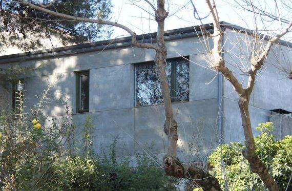 Façana fibrociment remonta Sant Cugat del vallès - Papik Cases Passives