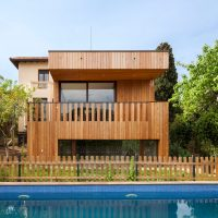 casa passiva piscina barcelona casa ecológica passivhaus