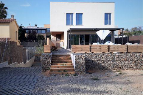 Inauguración de la primera casa pasiva certificada Passivhaus de Sant Cugat del Vallès.