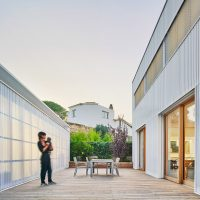 espai exterior argentona casa passiva papik cases passives catalunya casa biopassiva casa eficient
