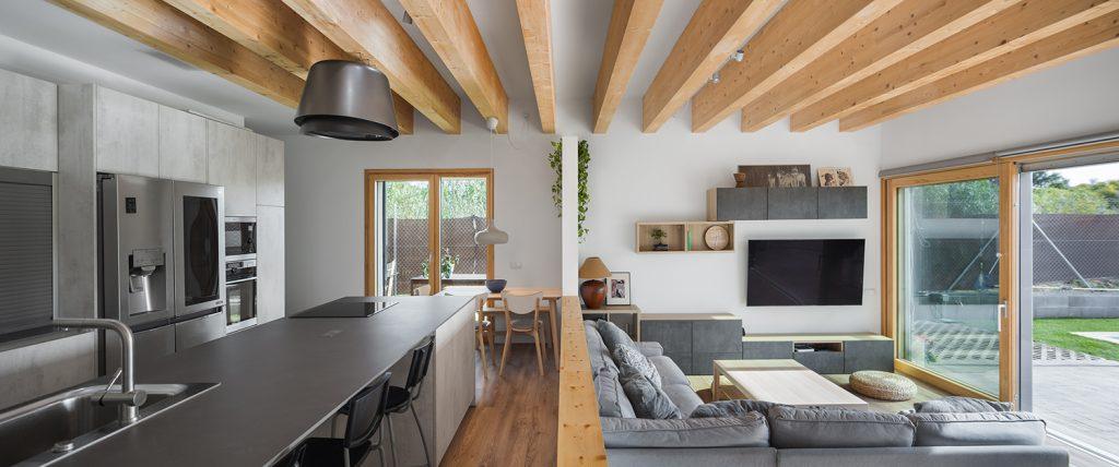 interior primera casa certificada passivhaus sant cugat catalunya papik cases passives