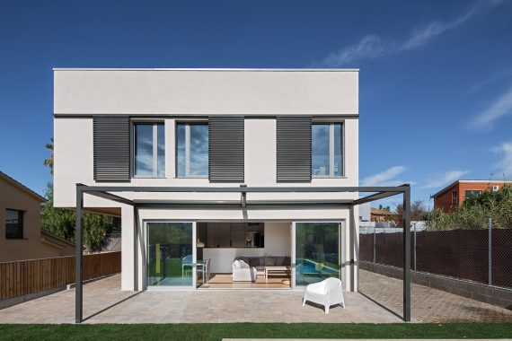 Papik Cases Passives façana k-del carrill primera casa passivhaus de Sant Cugat