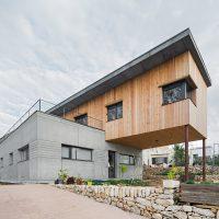 Façana k-Vilanova: Casa passiva a vilanova Papik cases passives