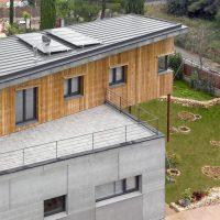 Vista aèrea casa de Vilanova papik cases passives