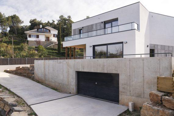 Exterior K-Matadepera casa passiva Passivhaus a Catalunya