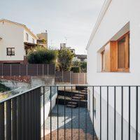 entrada planta soterrani de K-codines casa passiva eskimohaus autosuficient a catalunya