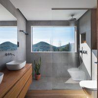 lavabo de K-codines casa passiva eskimohaus autosuficient a Catalunya