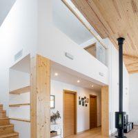 Menjador de K-Hostalets una casa certificable sota l'estàndard Passivhaus construïda per Papik Cases Passives