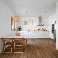 cuina de K-Malats una casa passiva a Barcelona construida per Papik