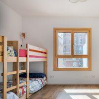 Dormitori infantil de K-Malats una casa passiva a Barcelona construida per Papik